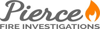 Pierce Fire Investigations Logo